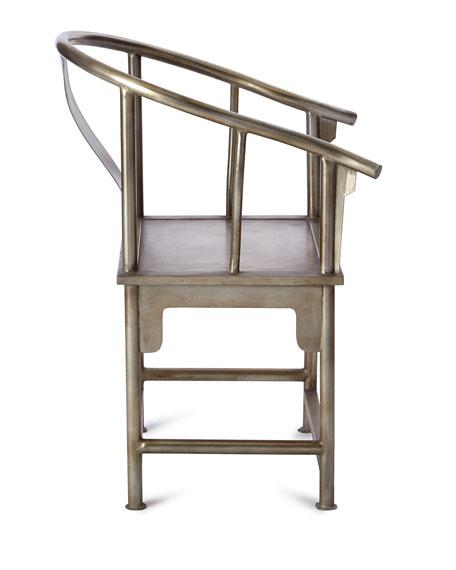 Karaze Metal Accent Chair
