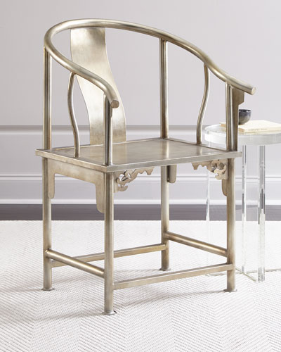Karaze Metal Accent Chair