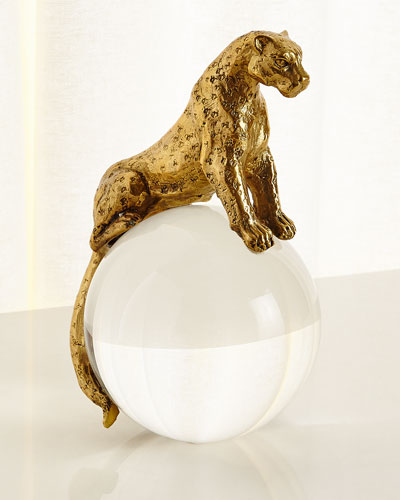Brass Jaguar on Crystal Ball