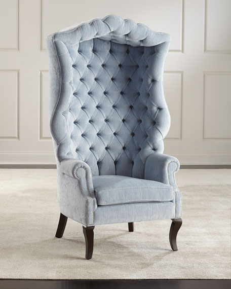 Peyton Hooded Accent Chair