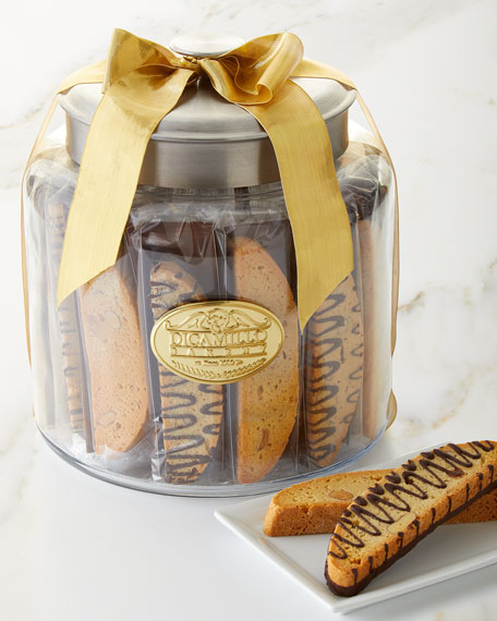 Dicamillo Baking Co Holiday Biscotti Moderno Jar