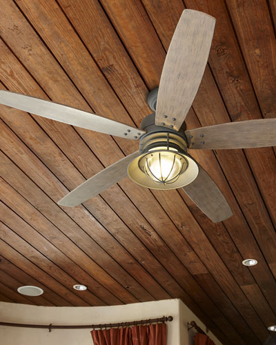 Portico Patio Fan, Brown