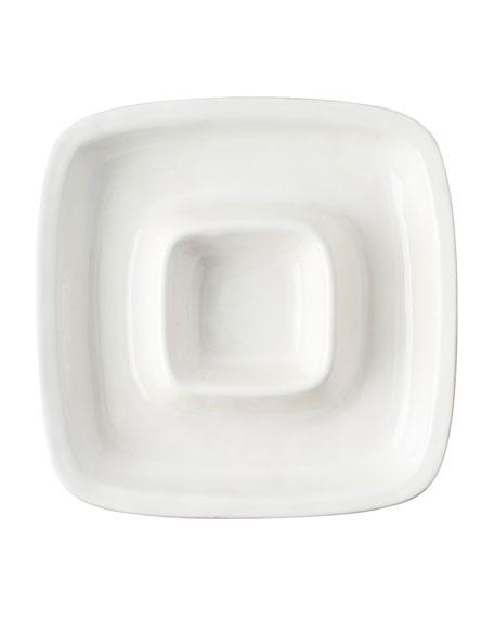 Puro Whitewash Chip and Dip Server