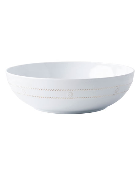 "Berry & Thread Melamine Whitewash 12"" Bowl"