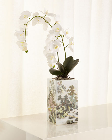 Chinoiserie Orchids
