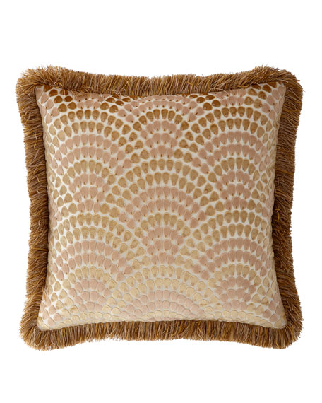 Rosamaria European Sham with Fringe