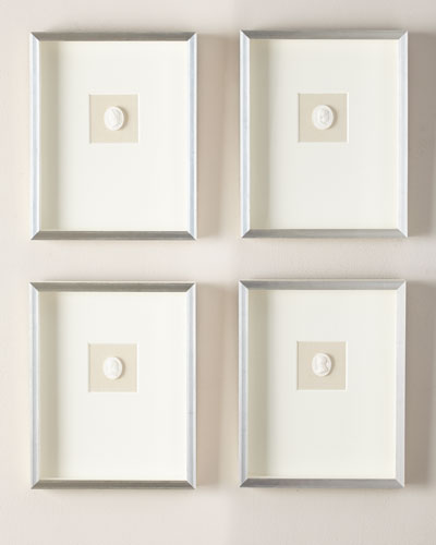 Small Single Framed Intaglios, Set of 4