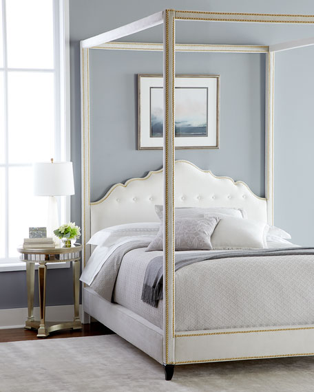 Athena California King Canopy Bed