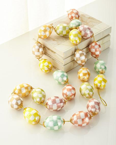 Cream Eggs Garland