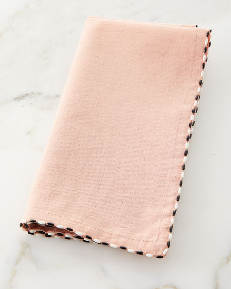 MacKenzie-Childs Linen Napkin, Blush