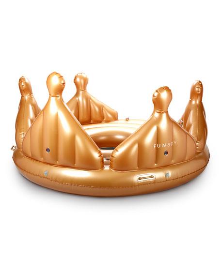 Royal Crown Island Pool Float