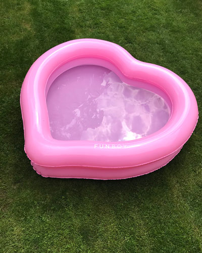 The Heartcha Pool Float