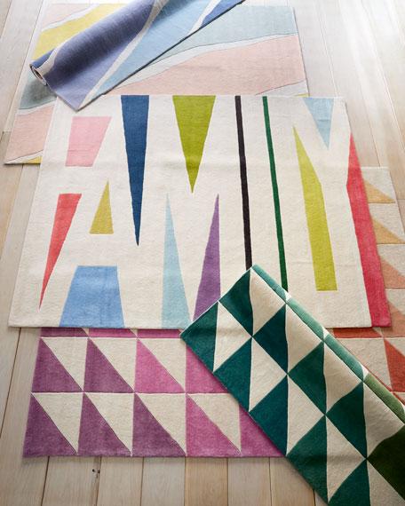 Fun Tiles Hand-Tufted Rug, 9' x 12'