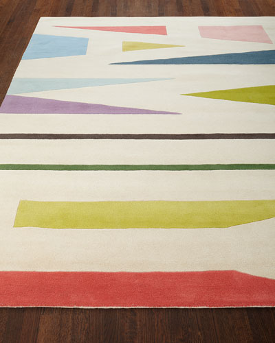Family Expressions Hand-Tufted Rug  5' x 8'