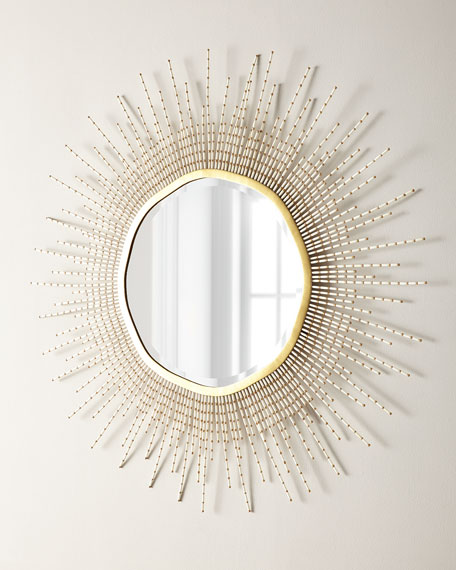 Sadie Beaded Mirror