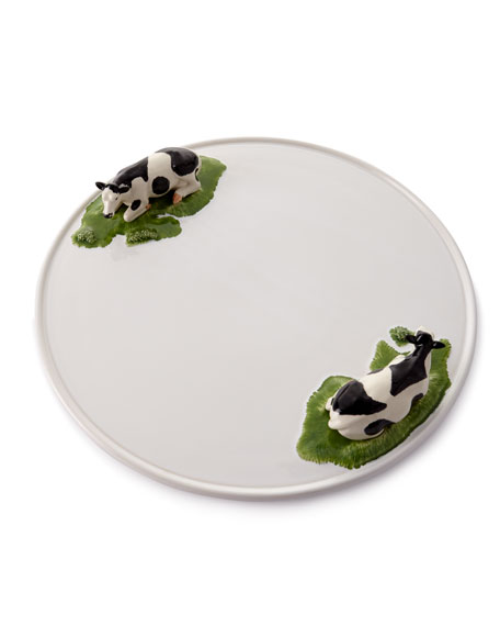 Bordallo Pinheiro Meadow Round Cheese Tray