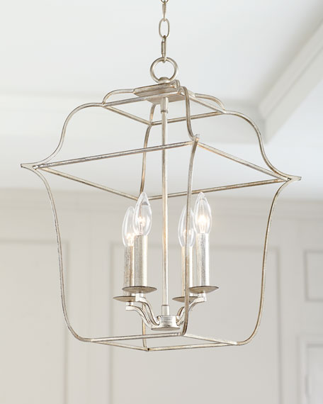4-Light Cage Chandelier