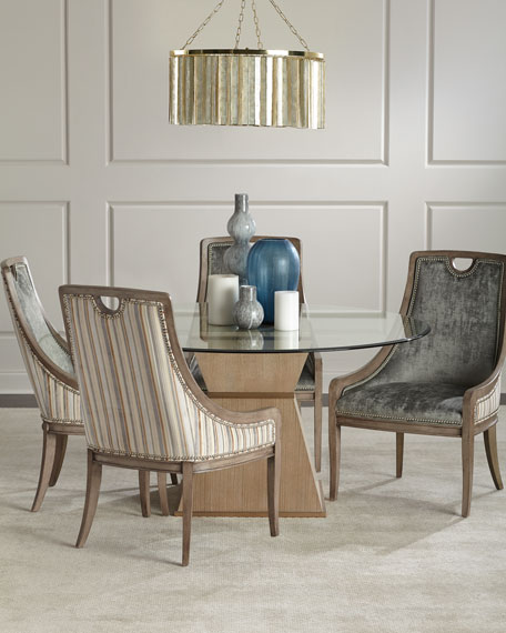 Massoud Larissa Velvet Dining Chair