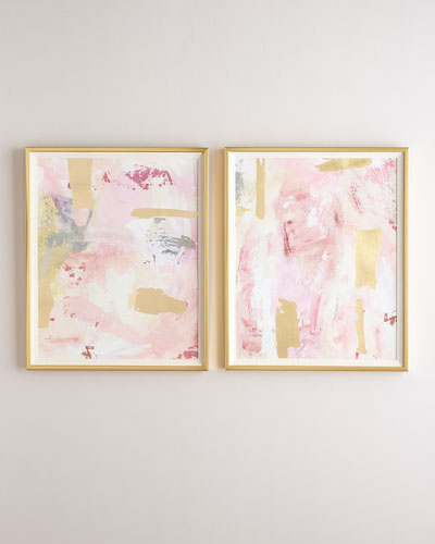 Rosie Abstracts  Set of 2