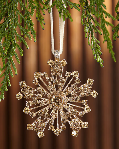 Snowflake Hanging Ornament G