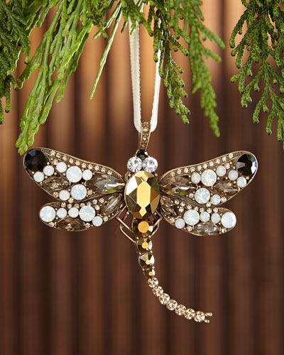 Large Dragonfly  Christmas Ornament
