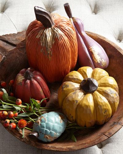 Assorted Pumpkins, Set of 5