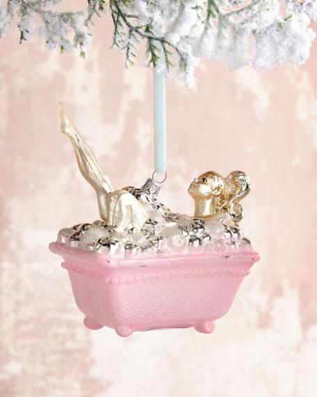 Bubble Bath Christmas Ornament