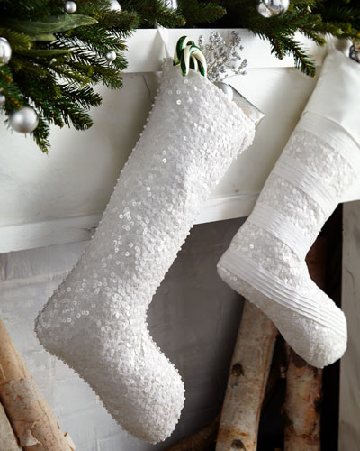 Water Sequins Christmas Stocking
