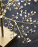"""Glimmer & Gold Crystal Tree, 24"""""""