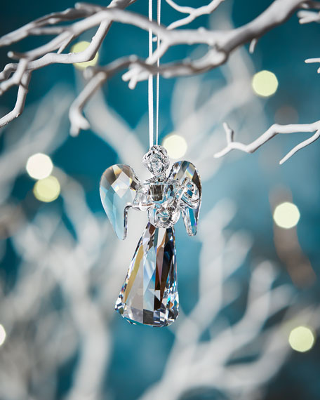 2018 Annual Edition Crystal Angel Christmas Ornament