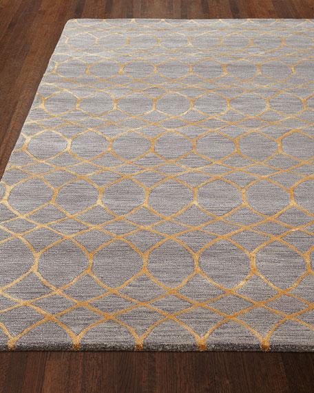 Noah Hand-Tufted Rug, 3.9' x 5.9'