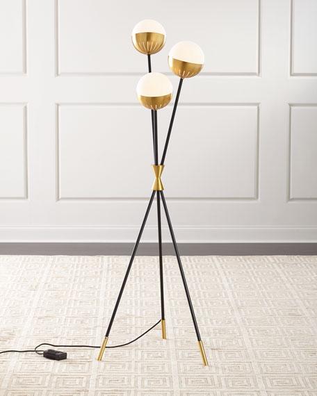 Jonathan Adler Caracas Tripod Floor Lamp, Jonathan Adler Table Lamp