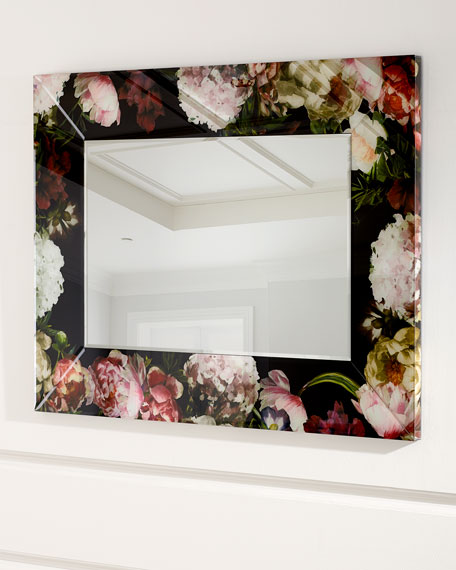 Dutch Blooms Mirror