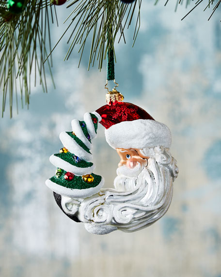 Moon Struck Christmas Ornament