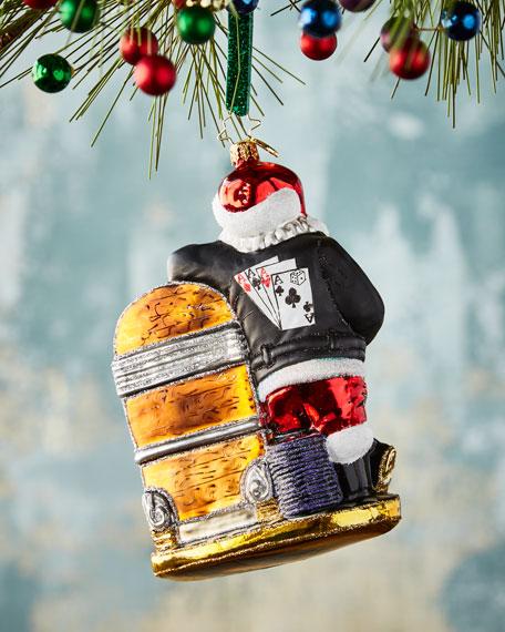rock n roll rebel christmas ornament