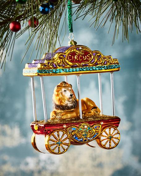 One Big Kitty Christmas Ornament