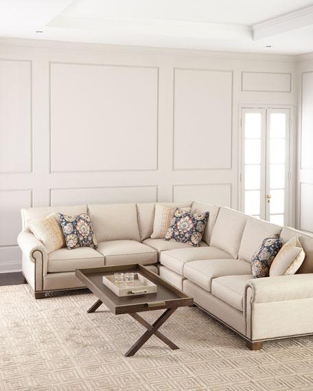 Terrific Cavalier 4 Piece Sectional Sofa Inzonedesignstudio Interior Chair Design Inzonedesignstudiocom