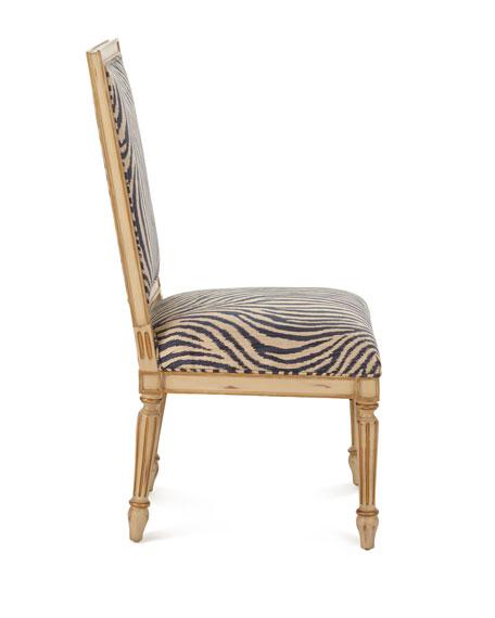 Zebra Dining Side Chair