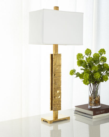 Global Views Pimlico Brass Table Lamp