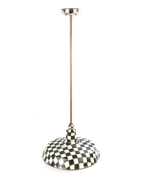 Courtly Check Barn Pendant Lamp, 18