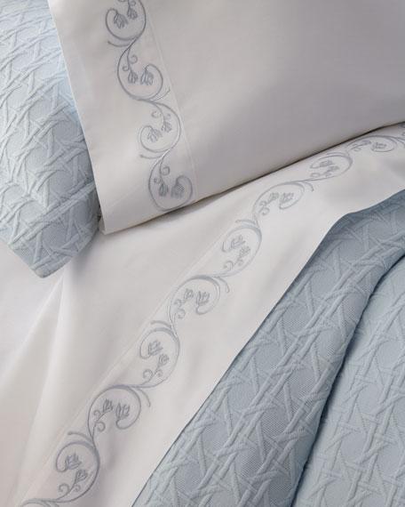 SFERRA Cassy Pima Cotton Sheet Set, King