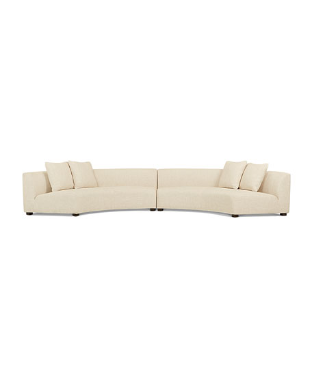 Belmount 2-Piece Curved Sectional 212""