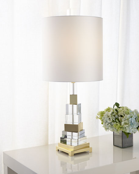 Twisted Crystal Lamp