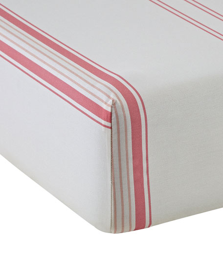 Babylone 200 Thread-Count Queen Fitted Sheet