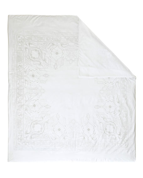 Majeste 300 Thread-Count Queen Duvet Cover