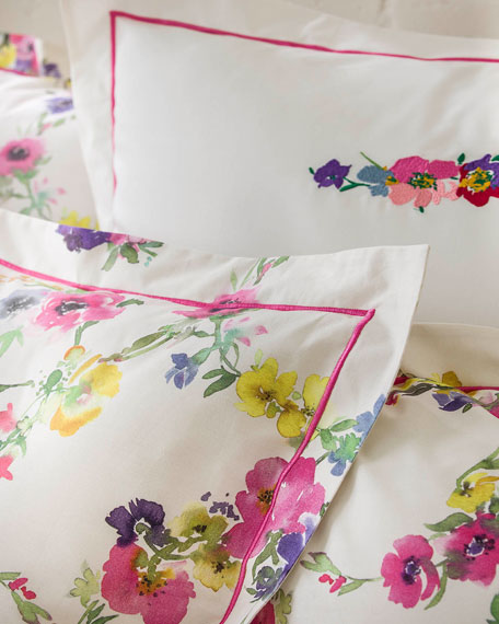 Farandole 200 Thread Count Queen Duvet Cover