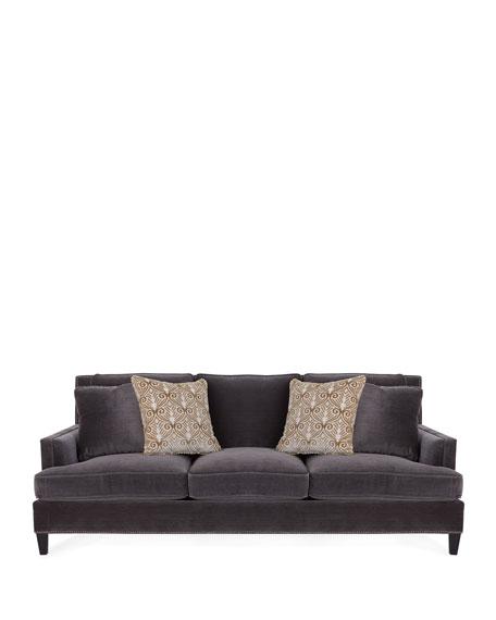 Vernon Velvet Sofa