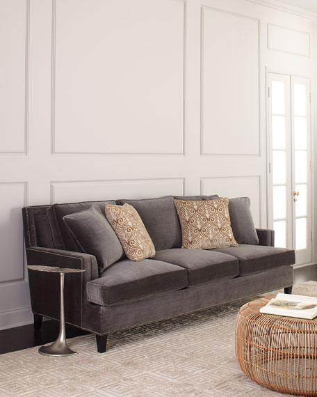 Bernhardt Vernon Velvet Sofa