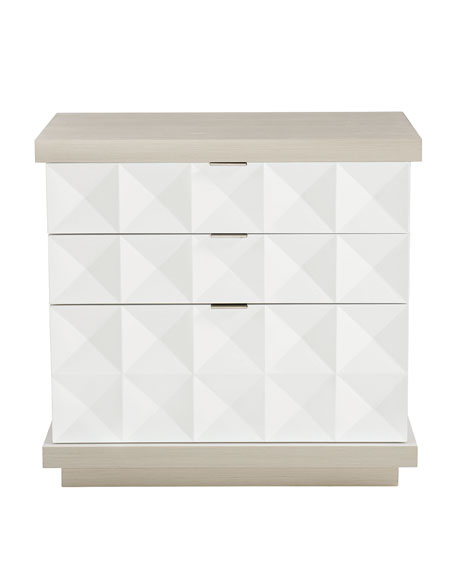 Axiom 3 Drawer Nightstand