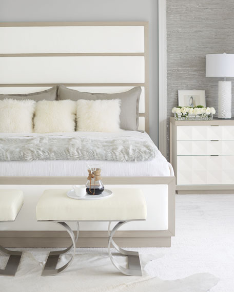 Axiom Tall Upholstered Panel California King Bed